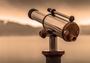 Observera himlen med ett teleskop